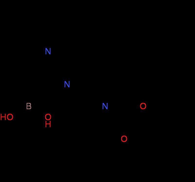 2-(4-(tert-Butoxycarbonyl)piperazin-1-yl)pyridine-3-boronicacid