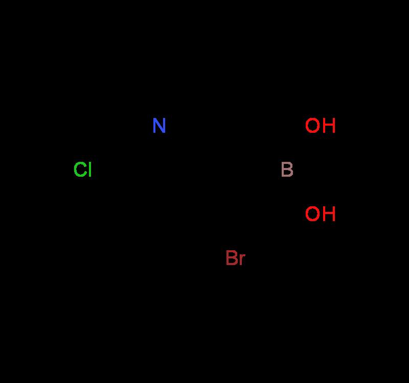 4-Bromo-6-chloropyridine-3-boronicacid