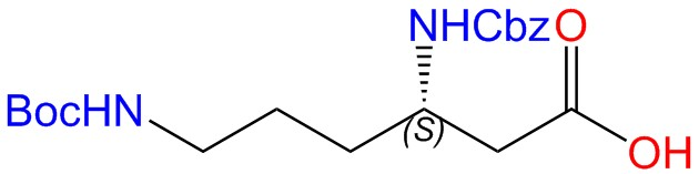 Cbz-L-beta-Lys(Boc)-OH