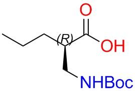 Boc-(R)-2-aminomethy-pentanoicacid
