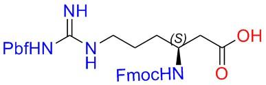 Fmoc-L-β-HomoArg(Pbf)-OH